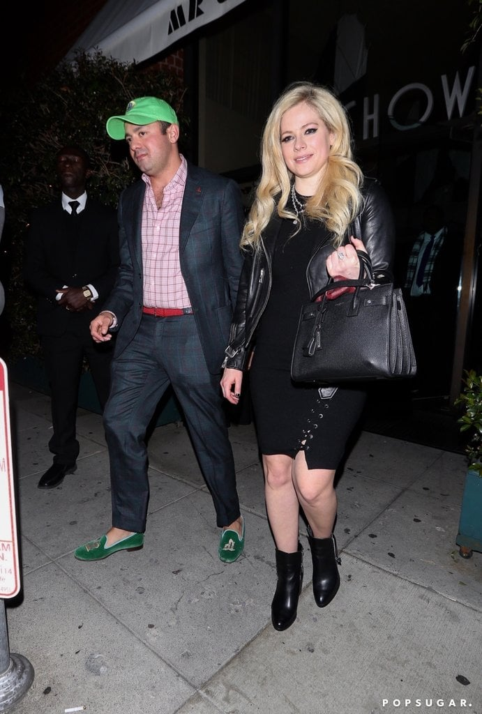 Avril lavigne who is she dating 2012. Dating for one night.