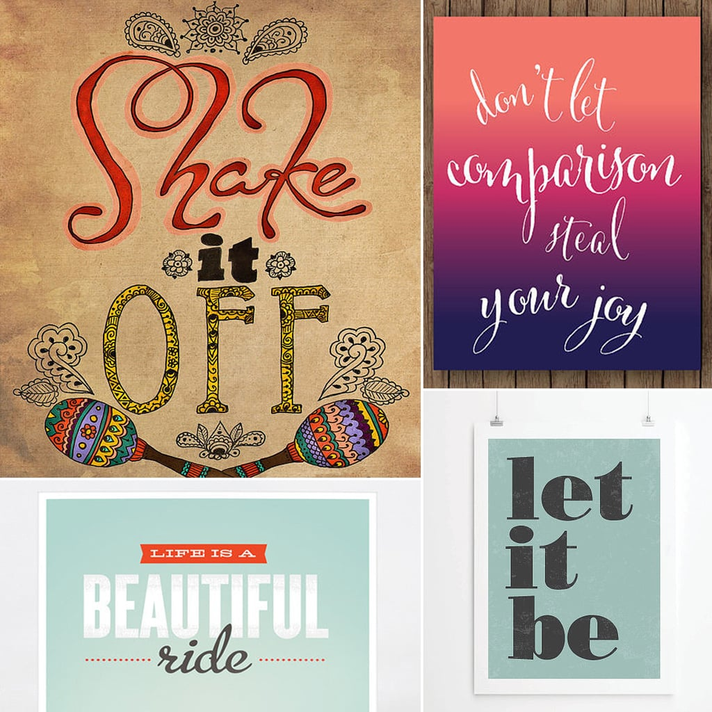 Life Quote Posters Inspiration Inspirational Quote Posters  Popsugar Fitness