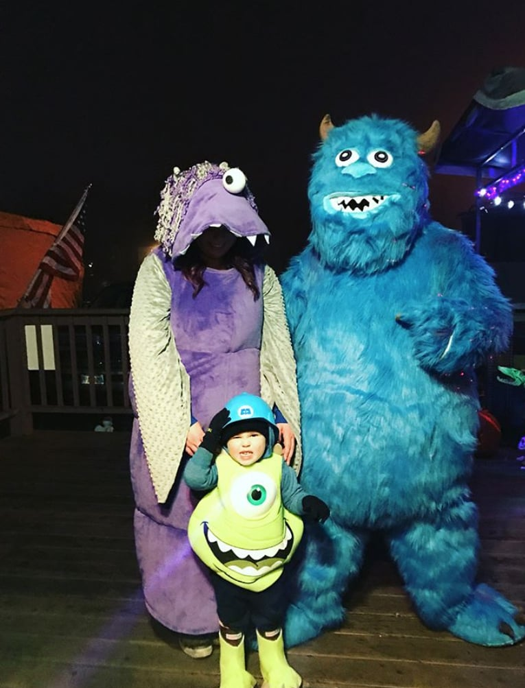 Mike, Sully, and Boo