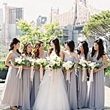 Ravenclaw-Inspired Bridal Party