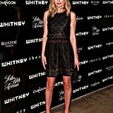 Kate Bosworth stepped out for NYC's Whitney Art Party in a Theyskens' Theory LBD.