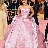 Deepika Padukone Wearing a Zac Posen Dress