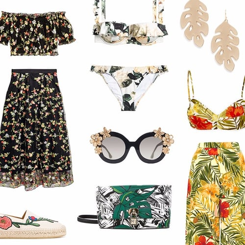 Fresh Ways to Wear Florals This Spring