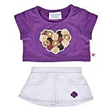 2-Piece Girl Scouts Skirt Outfit
