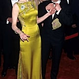 Nicole wearing John Galliano for Christian Dior at the Oscars in 1997.