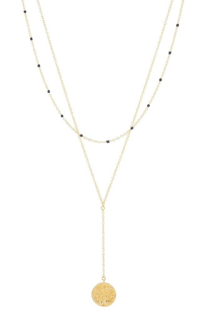 Gorjana Milano Coin Layered Necklace