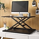 Westbury Pneumatic Height Adjustable Standing Desk Converter