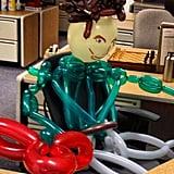 David Hasselhoff in the (Balloon) Flesh