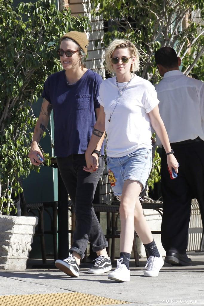 Kristen Stewart and Alicia Cargile in LA July 2016