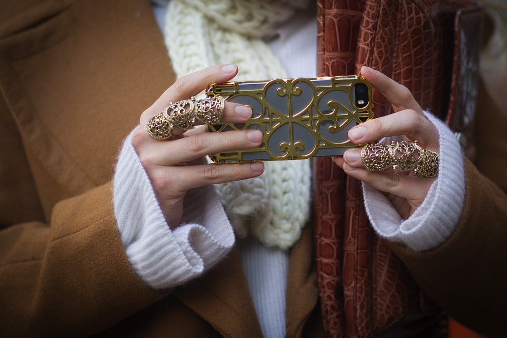 It takes a very dedicated person to coordinate your iPhone case with your jewelry.