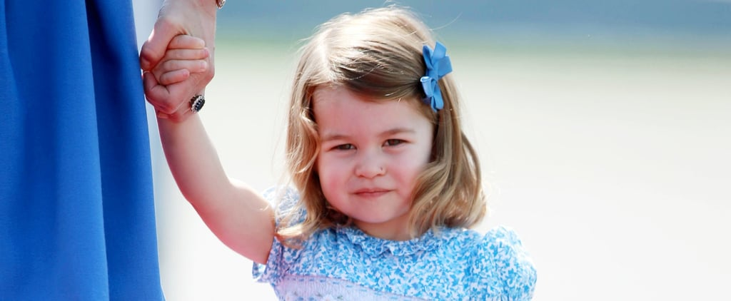 Princess Charlotte Delivered Her First Curtsy, and Everyone Missed It