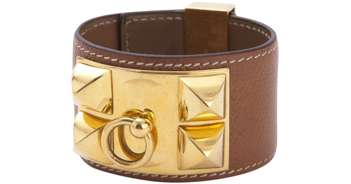 ... discount hermes collier de chien leather bracelet luxury items on sale  popsugar fashion photo 4 814d9 b94d9969aa0