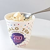 Halo Top Birthday Cake Lenny Larrys Complete Cookie In Enlightened Ice Cream