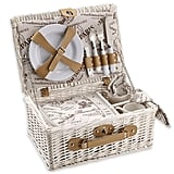 Over & Back Cafe Picnic Basket For 2