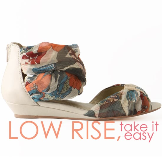 Shop Low Wedge Sandal Flats for Summer 2011