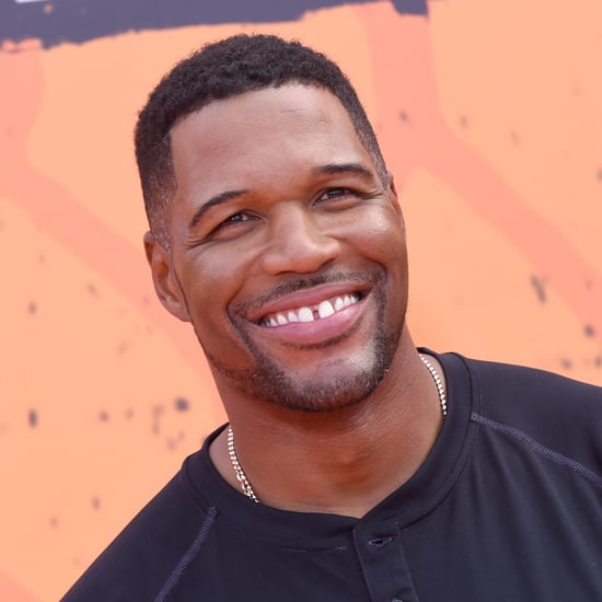 Michael Strahan Saying Goodbye to His Famous Gap Teeth
