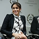 Meghan Markle International Women's Day Panel Speech Video