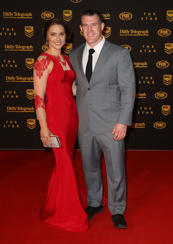 Anne and Paul Gallen