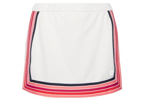 A Striped Tennis Skirt