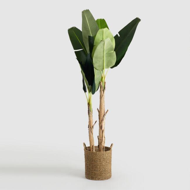 Faux Double-Stalk Banana Tree