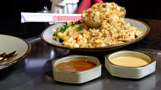 Benihanas Fried Rice Recipe Video Popsugar Food