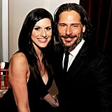 Joe Manganiello brought his girlfriend, Bridget Peters, to the True Blood season six premiere.
