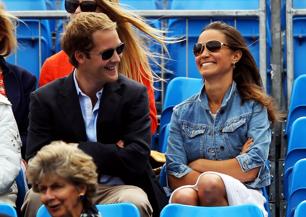 Pippa Middleton at the Tennis in London