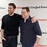 Matt Damon and Ben Affleck at Film Independent NYC 2016
