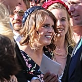 Princess Eugenie at Ellie Goulding's Wedding