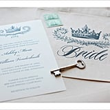 Crown Wedding Invitation