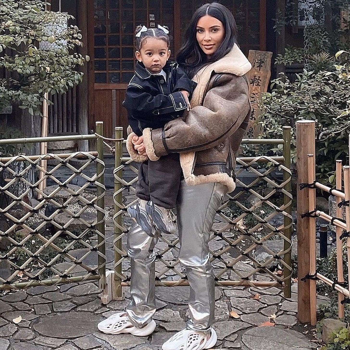 Kim Kardashian's Wild Yeezy Foam Runner