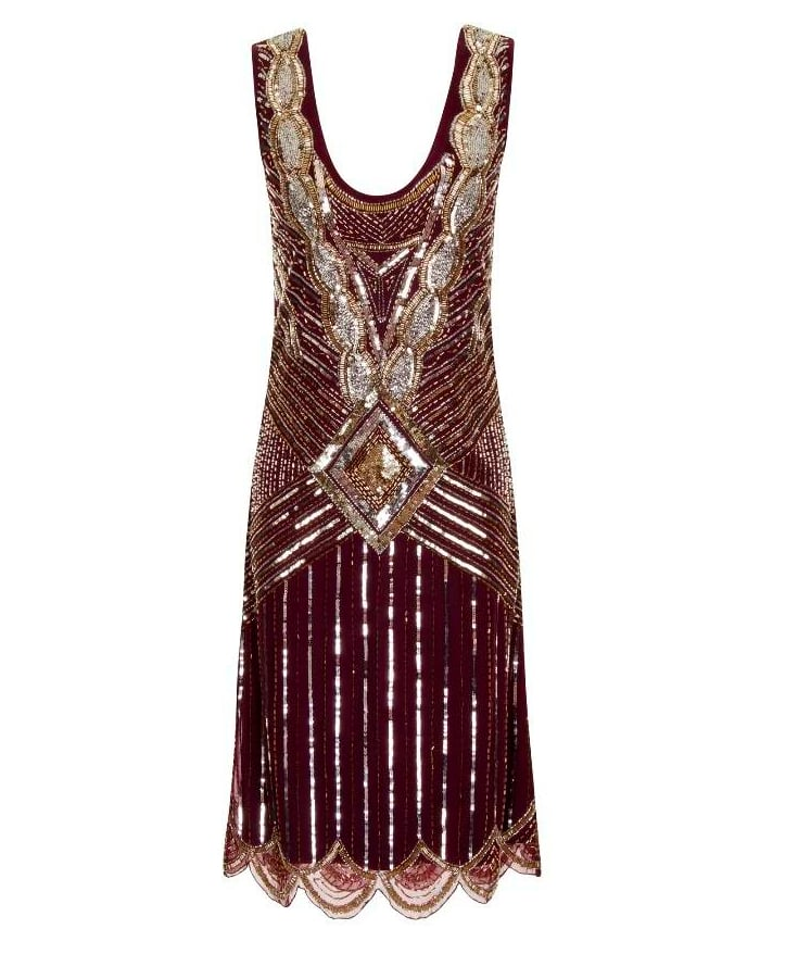 Frock and Frill Athena Gatsby Gown (£145)