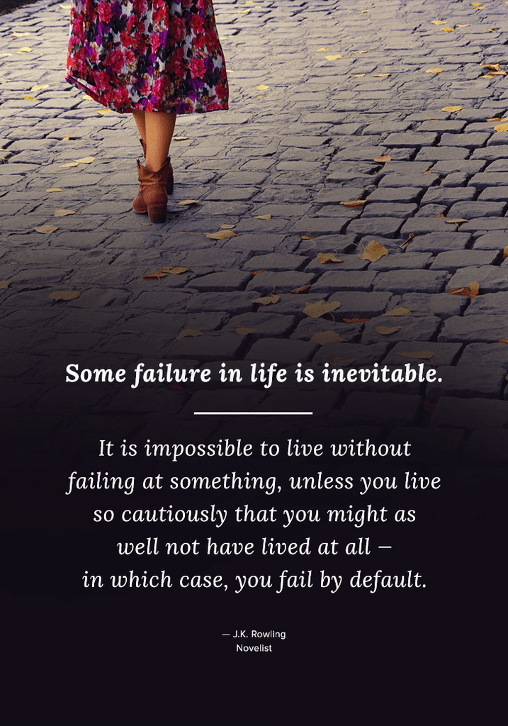 Some Failure In Life Is Inevitable Inspiring Quotes From