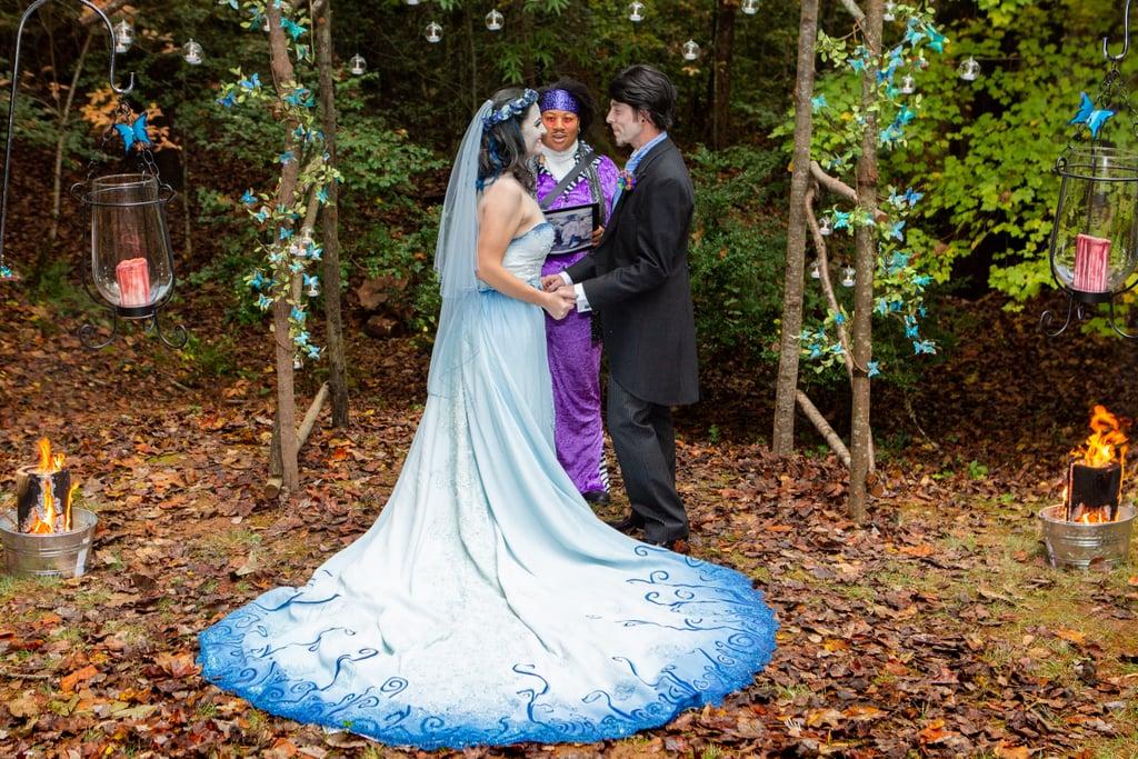 Corpse Bride Wedding Gown: Tim Burton Corpse Bride Wedding Ideas