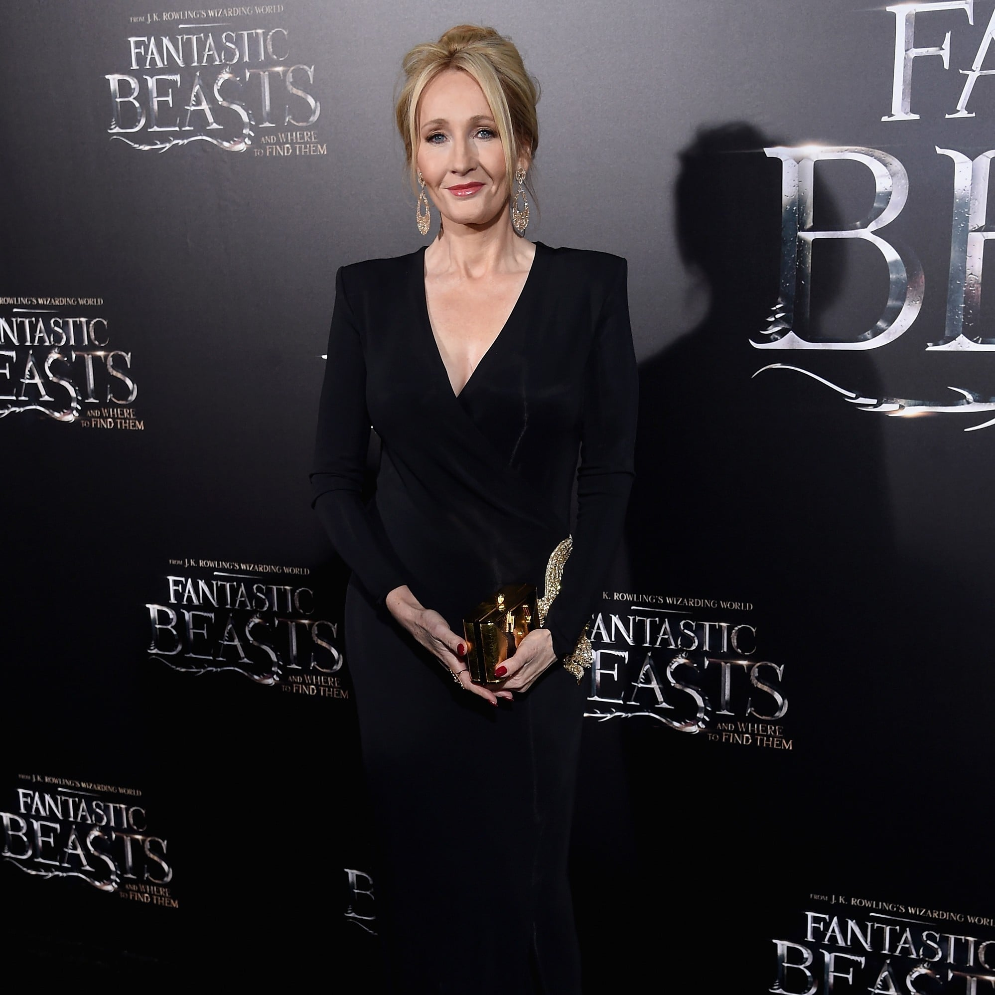 j k rowling entertainment j k rowling at fantastic beasts premiere in nyc 2016
