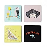 Make Me Iconic Aussie Wood Coasters ($24.99)