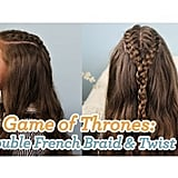 Double French Braid and Twist
