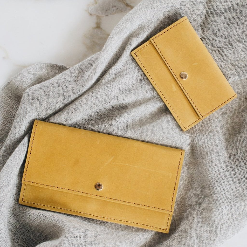 Raven + Liliy Addis Honey Slim Wallet