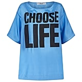 """""""My first slogan T-shirt. It's the central belief of the Buddhist philosophy and never needed more than now."""""""