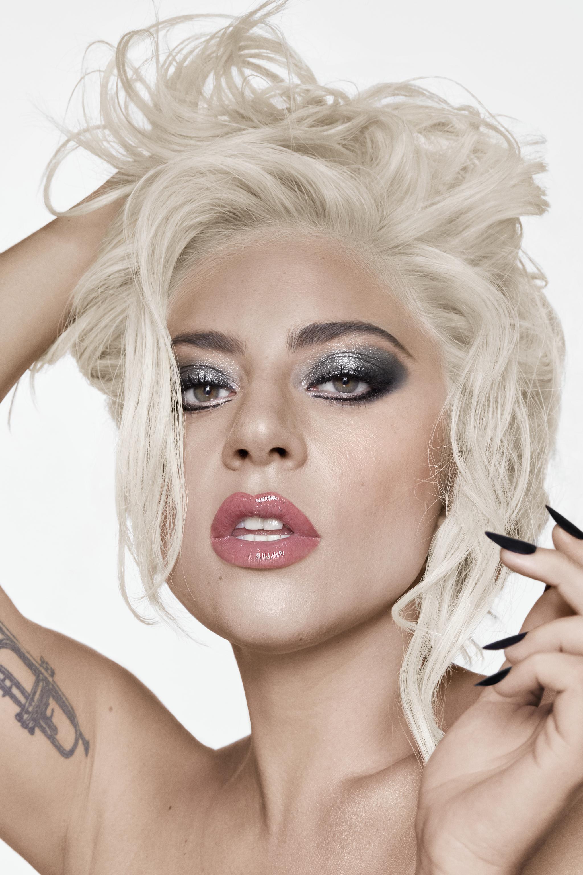 Lady-Gaga-Metalhead-Makeup-Tutorial-Wear