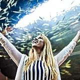 Visit the zoo or aquarium.