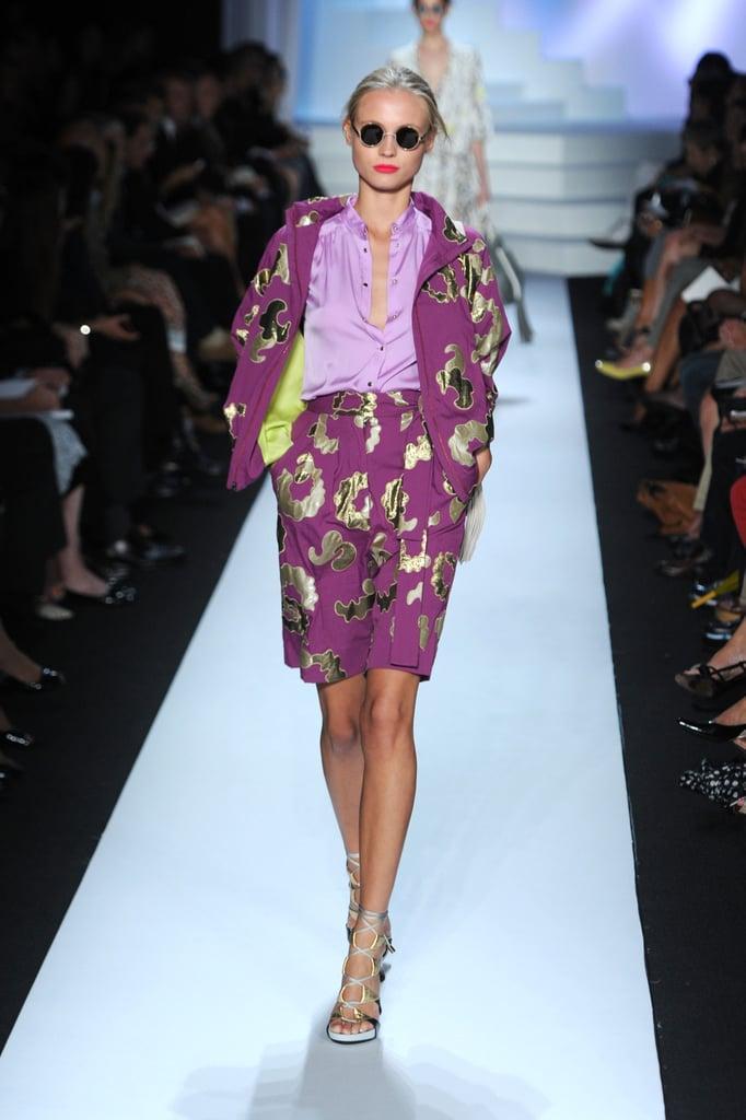 Spring 2011 New York Fashion Week: Diane von Furstenberg 2010-09-12 16:55:53