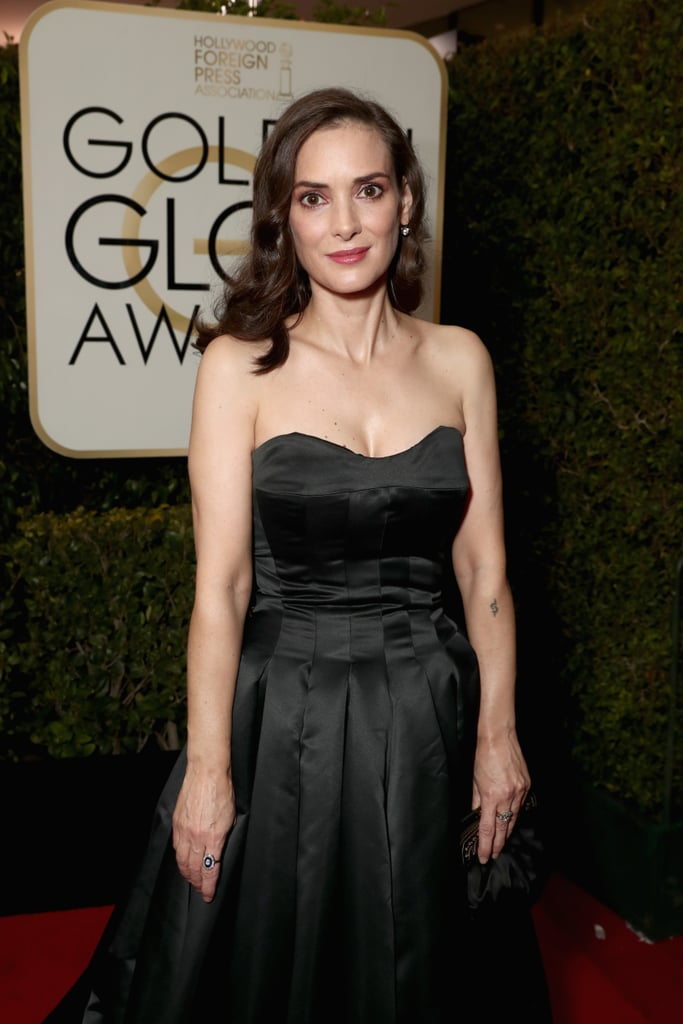"Winona Ryder may have been so busy ducking her ex-boyfriend Matt Damon at the Golden Globes on Sunday that she forgot to reunite with her Heathers costar Christian Slater, too. The actress was on hand for the big show on Sunday night and though she didn't take home the best actress in a TV drama series for her role in Stranger Things, she did look absolutely stunning on the red carpet in a black Viktor & Rolf gown. For the record, it's her first time attending the Globes since 2000 (with Matt Damon!), and somehow she's managed to look the same. She and Christian didn't come together during the event, but Winona still made time to gush about her former costar with E!'s Giuliana Rancic on the red carpet. ""I have not seen him in a long time, but I adore him,"" she said. ""I'm so happy for him. I could not be more happy for him. I love him so much . . . he's the best."" She also revealed that she reached out to the Mr. Robot star after his Golden Globe win in 2016: ""When he won, I just imagined he was getting flooded with emails, and so I was like, 'You don't have to write me back, but congratulations.'"" She went on: ""And then he wrote me back. And I was like, 'Oh . . . friends forever.'"" While we are very, very sad that our dream Heathers reunion didn't come to fruition, we're still thrilled to see Winona at big Hollywood events again — including her recent meetup with Beetlejuice and Edward Scissorhands director Tim Burton.       Related:                                                                The '90s It Girls You Wanted (and Still Kind of Want) to Be                                                                   It Looks Like the Stranger Things Cast Stepped Out of a James Bond Movie at the Golden Globes"