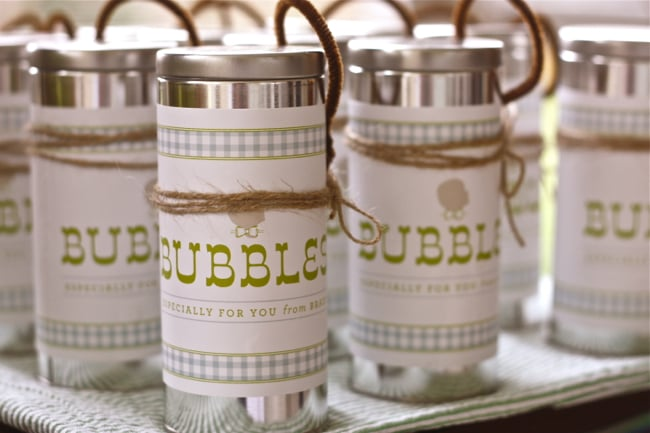 Bubbles Favors