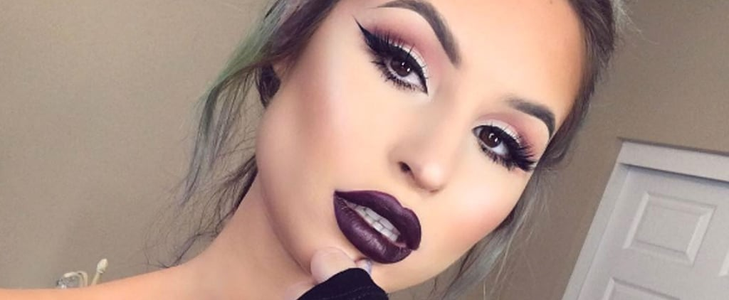 25 Beauties Who Will Inspire You to Rock a Dark Lip All Autumn Long