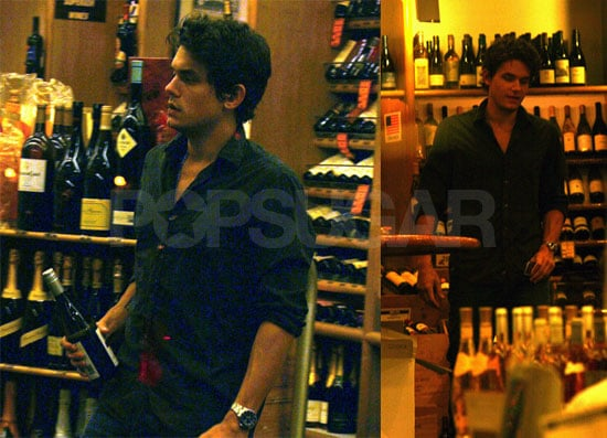 John Brings His Hotness To Buy Giant Wine Bottle