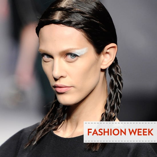 Fendi Autumn/Winter 2012 Hair and Makeup