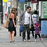 Toby Maguire and Family