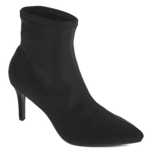 Worthington Penley Sock Bootie Heel Slip-On