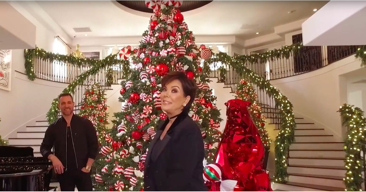 Kris Jenner Holiday Decor 2016 Popsugar Home